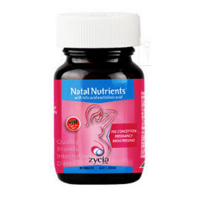 Zycia Natal Nutrients 30 tabs