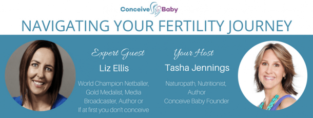 If at first you don't conceive - Liz Ellis